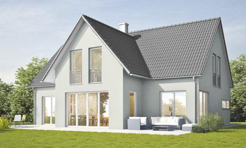 Haus Standard rot